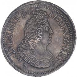 Louis XIV - Ecu aux 8L 2ème type - 1704 9 Rennes