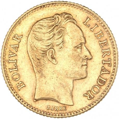 Vénézuela - 20 Bolivar 1886