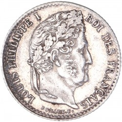 Quart de Franc Louis Philippe Ier 1832 A Paris