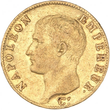 20 francs Napoléon Ier - an 13 A