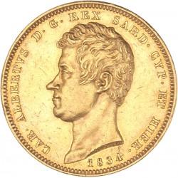 Italie - Sardaigne - 100 lires Charles Albert