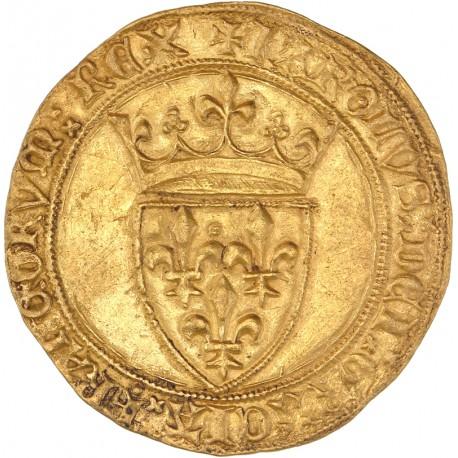 Charles VI - Ecu d'or (sans marque d'atelier)