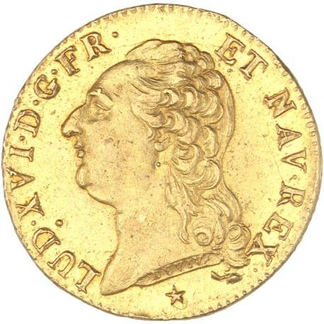 Louis XVI - Louis d'or 1786 W