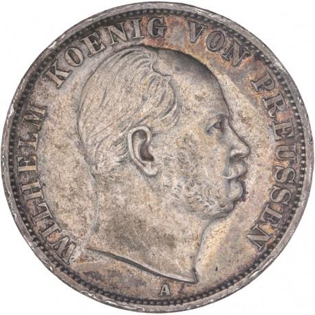 Allemagne - 1 Thaler Guillaume Ier 1870