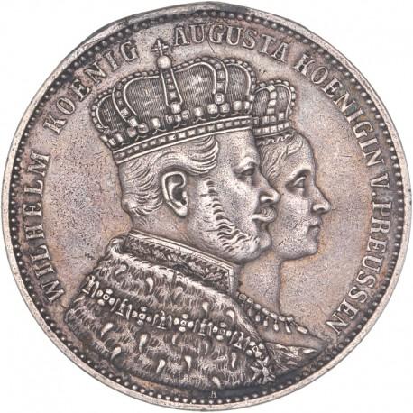 Allemagne - Prusse - 1 Thaler - 1861 Berlin