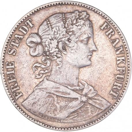 Allemagne - Francfort - 1 Thaler - 1860
