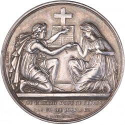 Médaille de mariage en argent