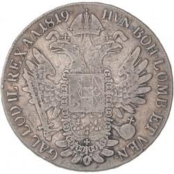 Autriche  - 1 thaler François Ier 1819 A