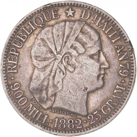 Haïti - 1 gourde 1882