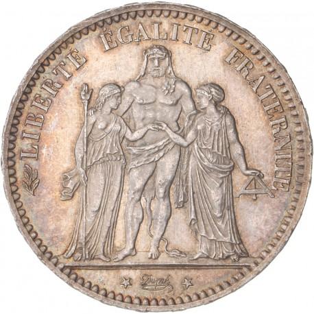 5 francs Hercule 1876 A
