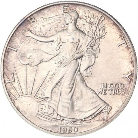 Etats Unis d'Amérique - 1 dollar 1990