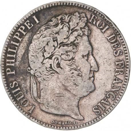5 francs Louis Philippe Ier  1834 L Bayonne