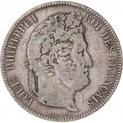 5 francs Louis Philippe Ier  1833 L Bayonne