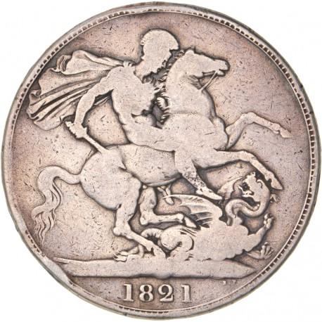 Grande Bretagne - 1 couronne Georges IV 1821