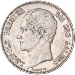 Belgique - 5 francs 1851