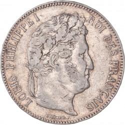 5 francs Louis Philippe Ier  1843 K Bordeaux