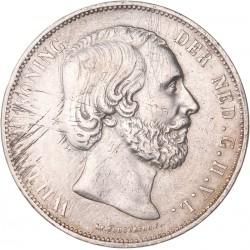 Pays Bas - 2 et demi Gulden 1874