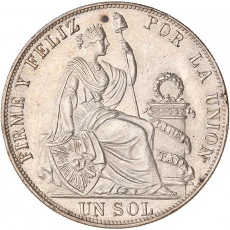 Pérou - 1 Sol 1892