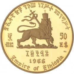 Ethiopie - 50 dollars 1966