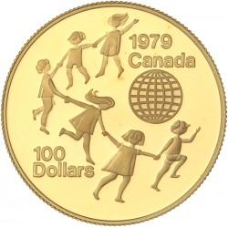 Canada - 100 dollars - 1979 - année internationale de l'enfance