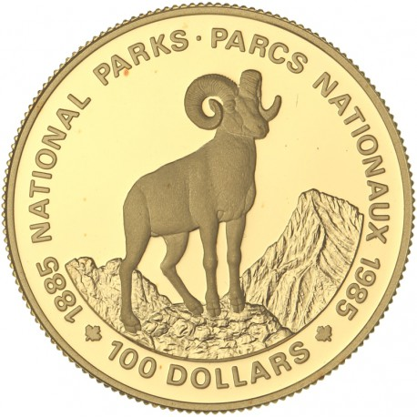 Canada - 100 dollars - 1985 -  Parc National