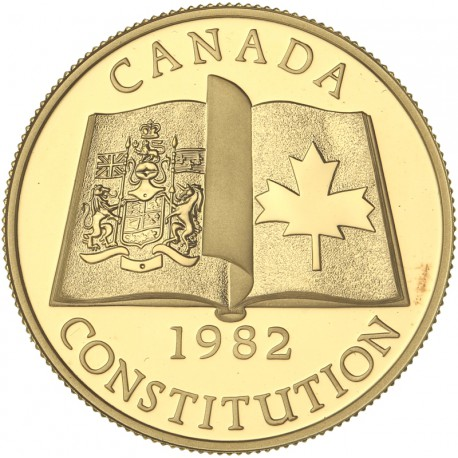 Canada - 100 dollars 1982 - Constitution Canadienne