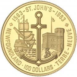 Canada - 100 dollars 1983 - 400ème anniversaire de Saint John