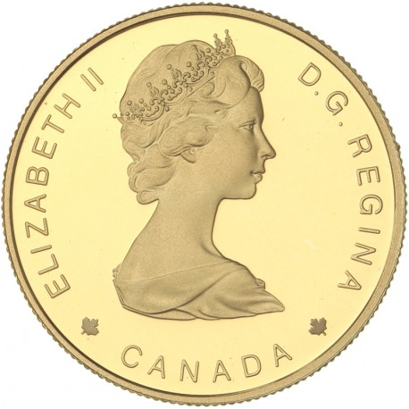 Canada - 100 dollars 1988 - Les baleines