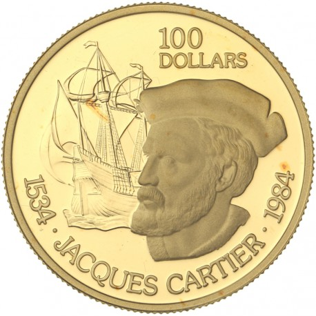Canada - 100 dollars 1984 - Jacques Cartier