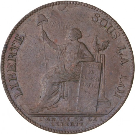 Monneron de deux sols 1791