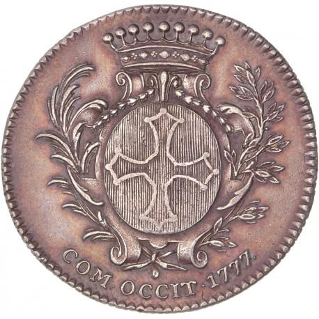 Louis XVI - Jetons des Etats du Languedoc - 1777