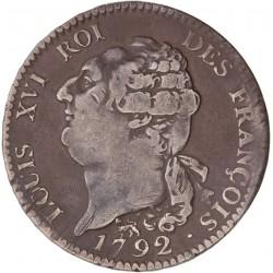 Louis XVI - Ecu de la Constitution - 1792 A Paris