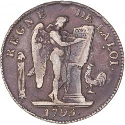 Louis XVI - Ecu de la Constitution - 1793 A Paris