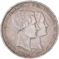 Belgique - Module de 5 francs Mariage du Duc de Brabant