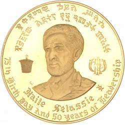 Ethiopie - Coffret de 5 monnaies d'or commémoratives