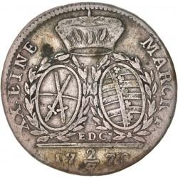 Allemagne - Saxe - 2/3 de thaler de Frederic Auguste III 1778