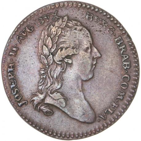 Pays Bas Autrichiens - Joseph II - Jeton commémoratif 1781