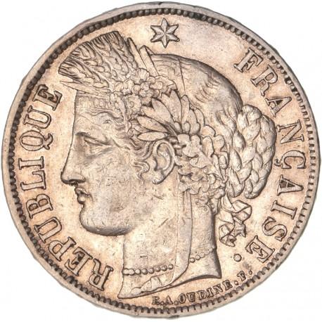 5 francs Cérès 1870 A