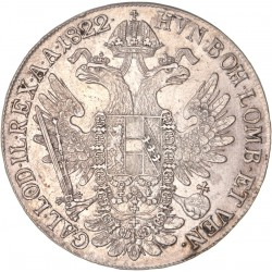 Autriche  - 1 thaler François Ier 1822 B