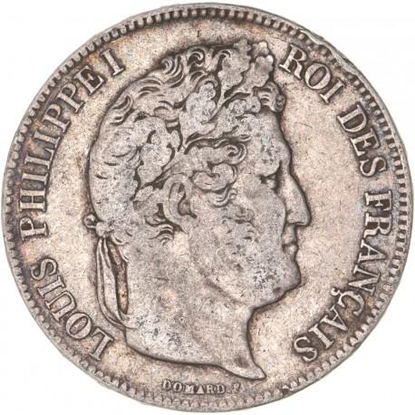 5 francs Louis Philippe Ier 1833 I Limoges