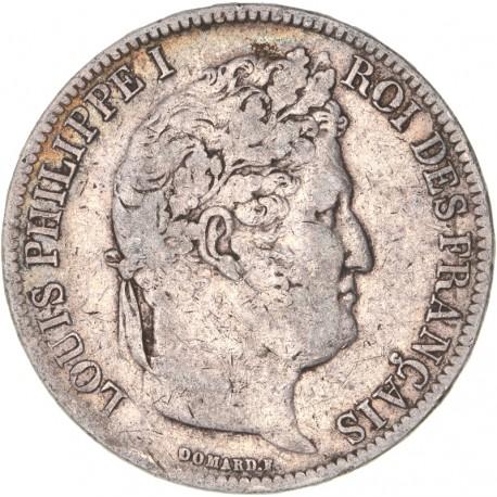 5 francs Louis Philippe Ier 1831 T Nantes