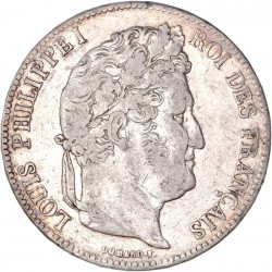 5 francs Louis Philippe Ier 1835 M Toulouse