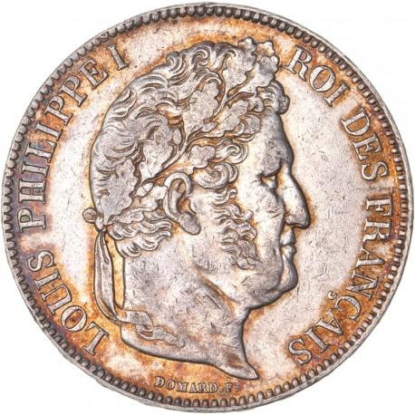 5 francs Louis Philippe Ier 1838 B Rouen