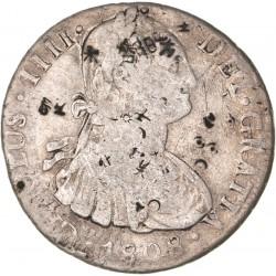 Bolivie - 8 réals Charles IV - 1808 PJ