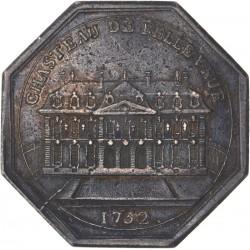 Jeton du nouvel hôtel des monnaies et du Château de Bellevue 1752