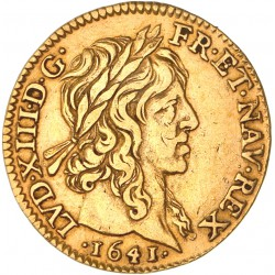 Louis XIII - Demi Louis d'or - 1641 A
