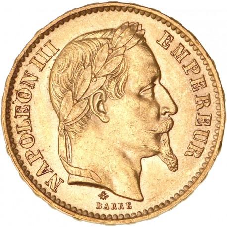 20 francs Napoléon III - 1867 A