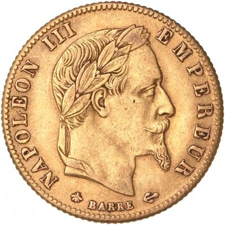 5 francs Napoléon III 1868 A