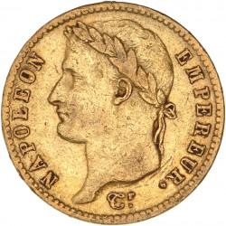 20 francs Napoléon Ier - 1810 A