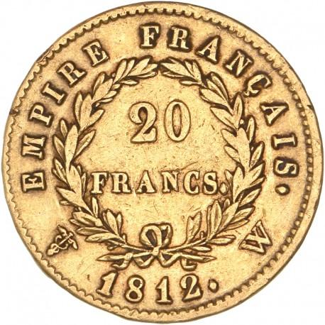 20 francs Napoléon Ier - 1812 W